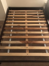 Full size platform bed with FREE mattress Jersey City, 07302