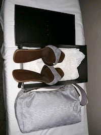 Authentic Gucci purse and sandals Minneapolis