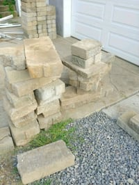 Used Brown And Gray Concrete Bricks For Sale In Pittsburgh
