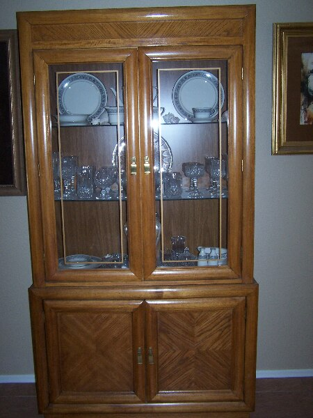 used oak china cabinet for sale in surprise letgo rh us letgo com