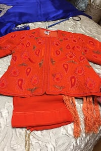 Orange lengha suit Toronto, M1W 1H2