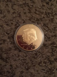 2017 limited edition trump Gold minted coin  Scranton, 18505