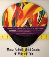 Mouse Pads with padded wrist support, as low as $1.75 each! Brandon, 39042