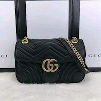 Gucci Marmont Black Leather - Premium Quality Greater London