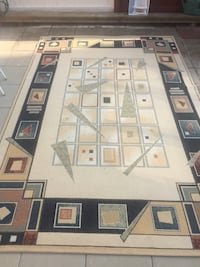 brown and white area rug London, N9 9GB