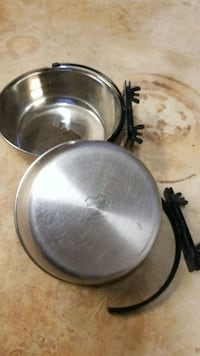 Stainless steel dog bowls Falls Church, 22044