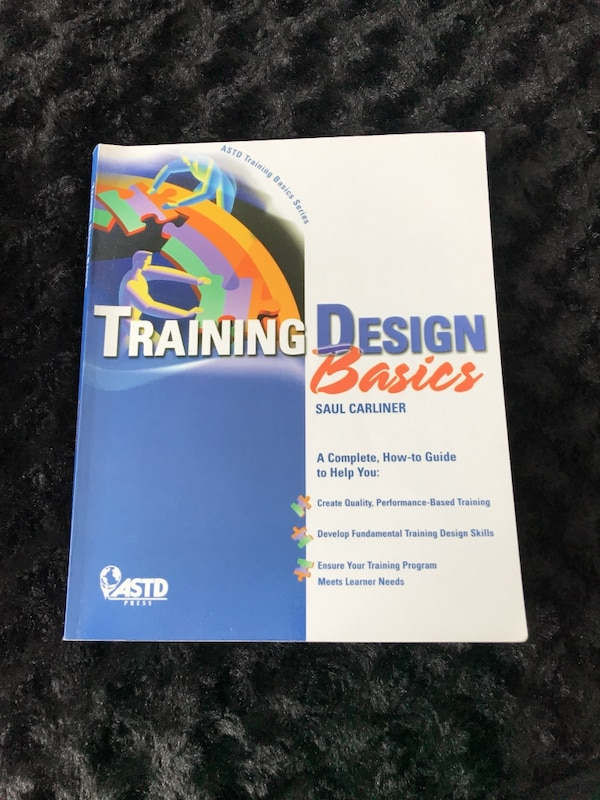 Textbook: Training Design Basics 4bfb246f-2c40-4a61-aa15-d3154193bacd