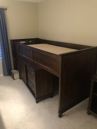 Boys Bed w Dresser and drawer steps Fairfax, 22030