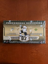 Upper Deck Phenomenal Beginning featuring Sidney Crosby Vaughan, L4H 2N7