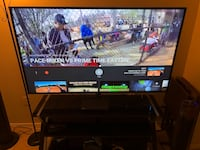 "Black flat screen 65"" Vizio TV with stand Bladensburg, 20710"