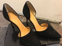 JCrew Black Suede pumps (8.5) Arlington, 22202