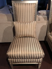 Pair Vintage French Provincial Tall Highback Accent CHAIRS Bethesda, 20814