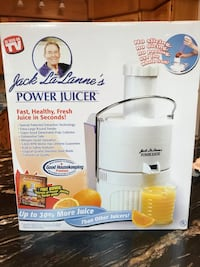 Power juicer  Guelph/Eramosa, N0B 1B0