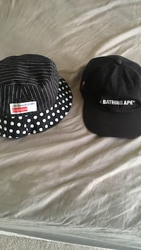 e005eacc Used Supreme x CDG Bucket Hat / BAPE 6-Panel. Take both for $200 or ...