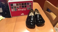 pair of black leather shoes. Size 37.   Brand new  San Francisco, 94124