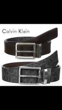 black and gray leather belt Newark, 07104