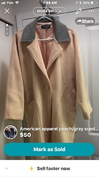 brown notch lapel suit jacket screenshot Vancouver, V5S