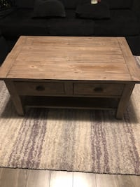 Wood coffee table made from reclaimed wood Surrey, V3S 5M9