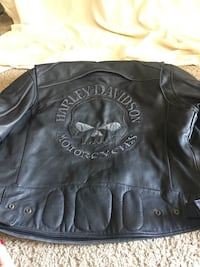 Harley Davidson Willie G leather jacket and 2X chaps all Men's large Orange Park, 32073