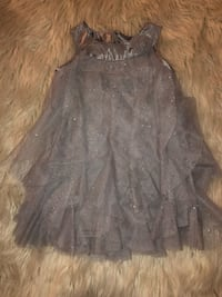 women's gray sleeveless dress Los Angeles, 90026