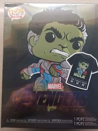 Hulk Endgame Hot Topic GITD Exclusive Funko Pop  Oakville, L6M 1L3