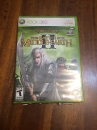 Lord of the Rings Battle of Middle Earth II for Xbox 360