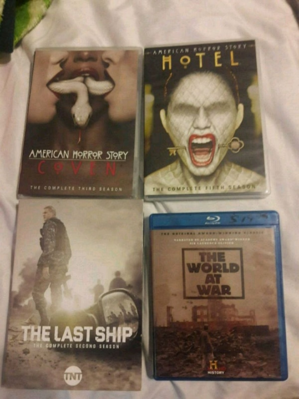 American horror story and the last ship tv  8 ea
