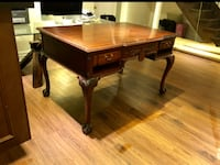 Antique Louis Style Writing Desk Office