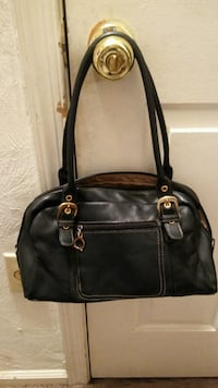 Small black leather clean Newport News, 23607