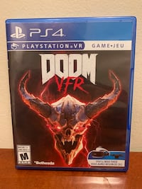 DOOM VFR PlayStation 4 VR game