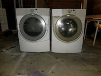 white front-load clothes washer and dryer set Oxnard, 93036