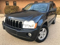 Jeep - Grand Cherokee V6 4x4  - 2007 Leather Sunroof heated seats clean title  Schaumburg, 60194