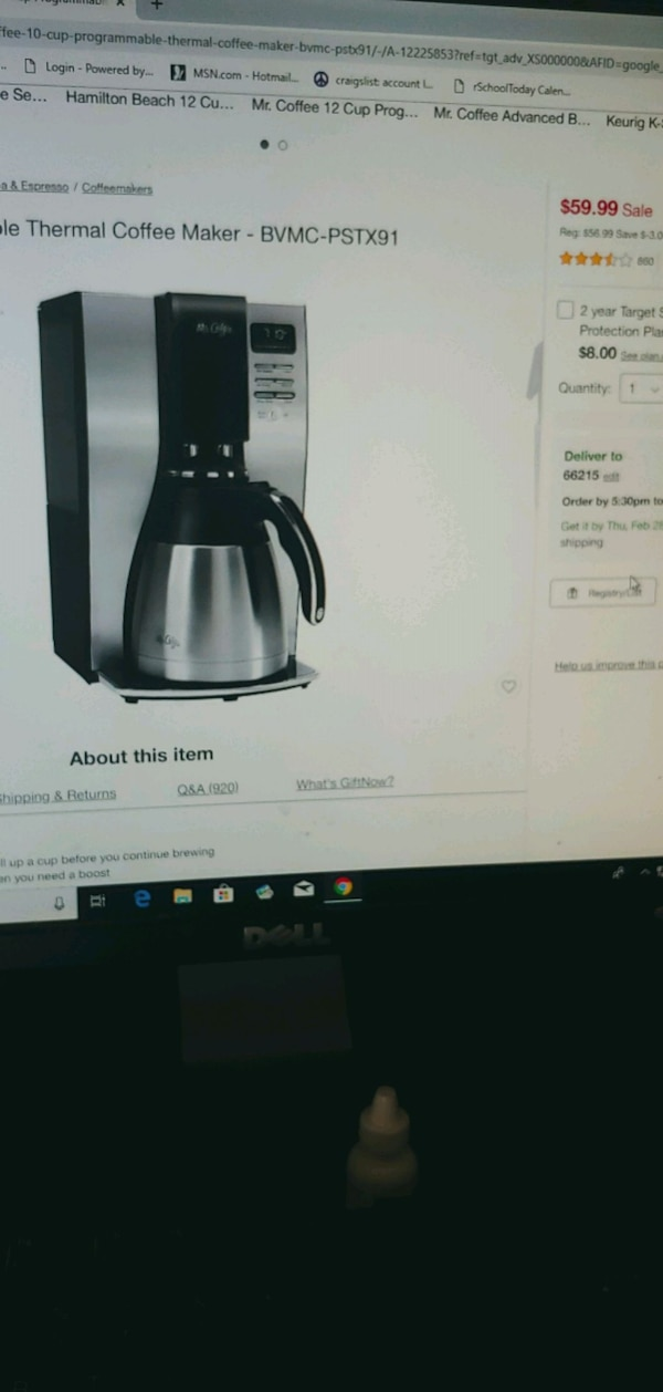 Used and new coffee maker in Independence - letgo
