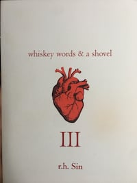 Whiskey words and a shovel by r.h. Sin Brampton, L6W