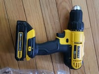 yellow and black DEWALT cordless power drill Gaithersburg, 20877