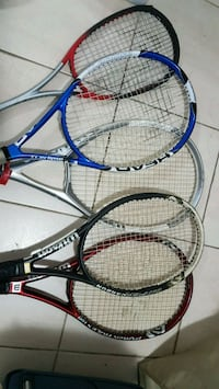 wilson and head tennis and squash rackets  Toronto, M6G 3T6