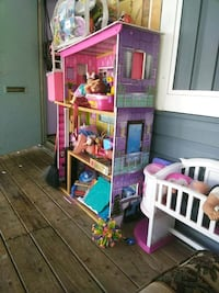 pink and white doll house 49 mi