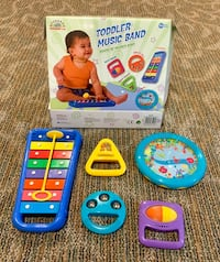 Toddler Music Band 5 Instruments GIFT SET - TOY Ridgefield, 07657