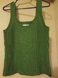 Olive Green Knit Sweater Vest  Nanaimo, V9S 3V1