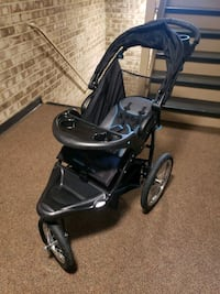 baby's black and gray jogging stroller Gaithersburg, 20879