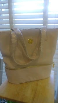 NEW JOY MAGNANO LEATHER BAG AND TOTE