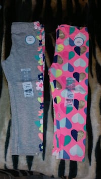 blue and pink Hello Kitty pants