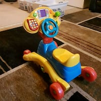 toddler's blue and yellow ride on toy Guelph, N1L 1T6