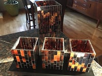 Retired Partylite Ambience Candle Holder Set Innisfil, L9S 3G8