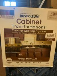 Cabinet paint system