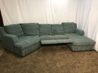 #1597 - Professionally Cleaned Reclining Sectional Oregon City, 97045