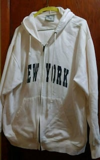 MENS XL ZIP UP New York Hoody  Dutch Brook, B1L 1E9