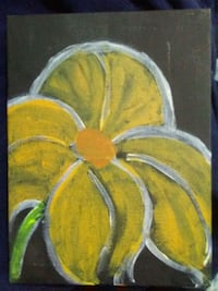 yellow and brown flower painting Washington, 20002
