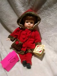 girl doll in red dress Clarkston, 99403