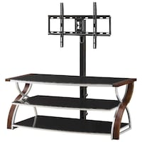 "NEW Whalen 3-in-1 TV Stand for TVs Up To 60"" (BBCXL54-NV) - Nova Mississauga"